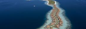 モルディブ・南マーレ環礁に Waldorf Astoria Maldives Ithaafushi が新規開業