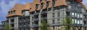 フランス・ドーヴィルに Novotel Deauville Plage が新規開業